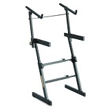 HERCULES Keyboard Stand [KS410B] Double - Keyboard & Piano Stand